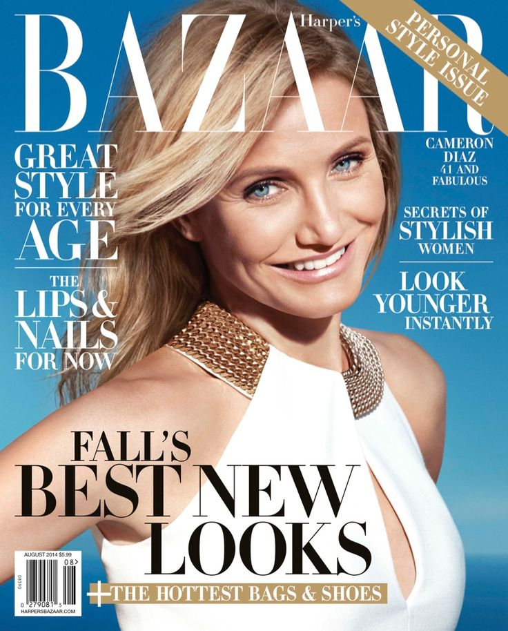 Cameron Diaz Poses for Harper's Bazaar, Talks Pressure to Have Children at 42