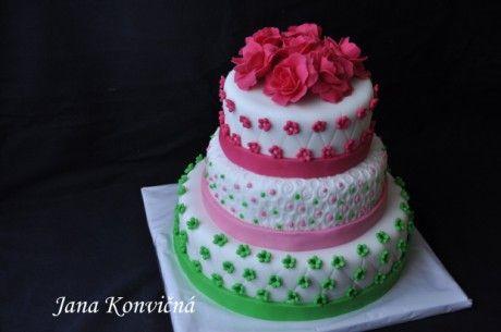 DORTY - Fotoalbum - Svatební dorty - Svatební dort