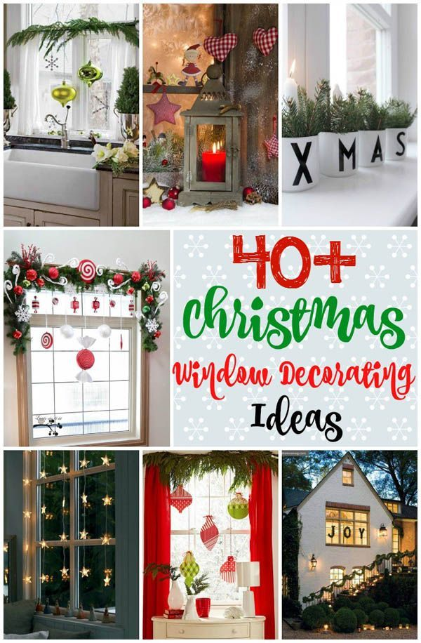 25 Best Ideas About Christmas Window Decorations On Pinterest Window Decorating Christmas Decorations For Outside And Christmas Window Lights