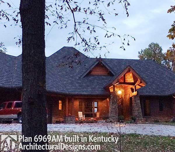 Plan 6969am award winning home plan craftsman built for Award winning craftsman home designs