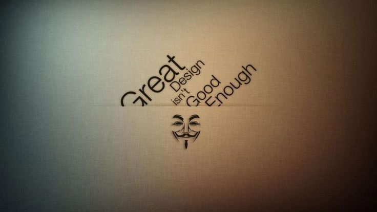 Anonymous typography