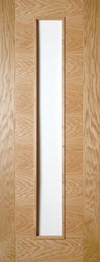 seville unglazed oak solid internal door