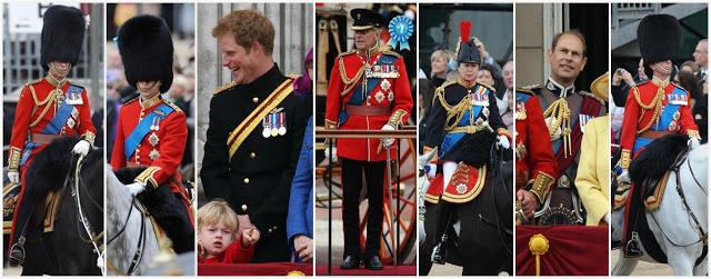 The Royal Order of Sartorial Splendor: Royal Fashion Awards: Trooping the Colour, 2012
