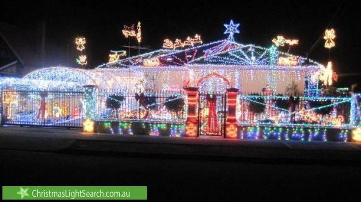 Christmas Lights in West Hindmarsh, SA. http://xmaslights.co/b