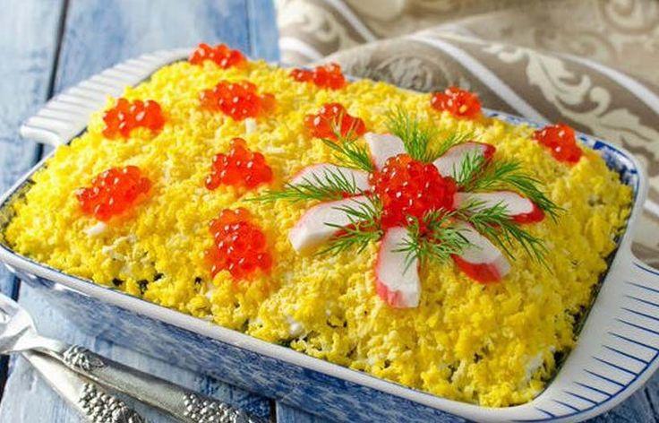 Салат «Царский-Новогодний» — главный на столе! Сохрани рецепт!