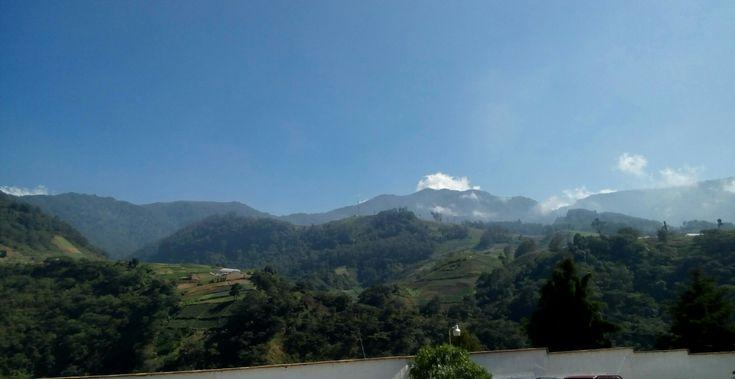 Bella montaña de Quetzaltenango.