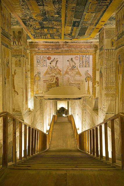 Tomb of Ramses VI, Egypt. [thought you might like this one -jl-]