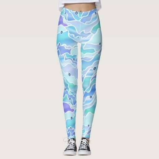 (Blue Psychedelic Seascape Abstract Leggings) #Abstract #Blue #Hippie #Ocean #Organic #Psychedelic #Sea #Seascape #StainedGlass #Sunlight #Surreal #Trippy #Window is available on Funny T-shirts Clothing Store   http://ift.tt/2cNaJZ4