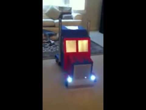 The Best Halloween Costume on Facebook - Optimus Prime - YouTube