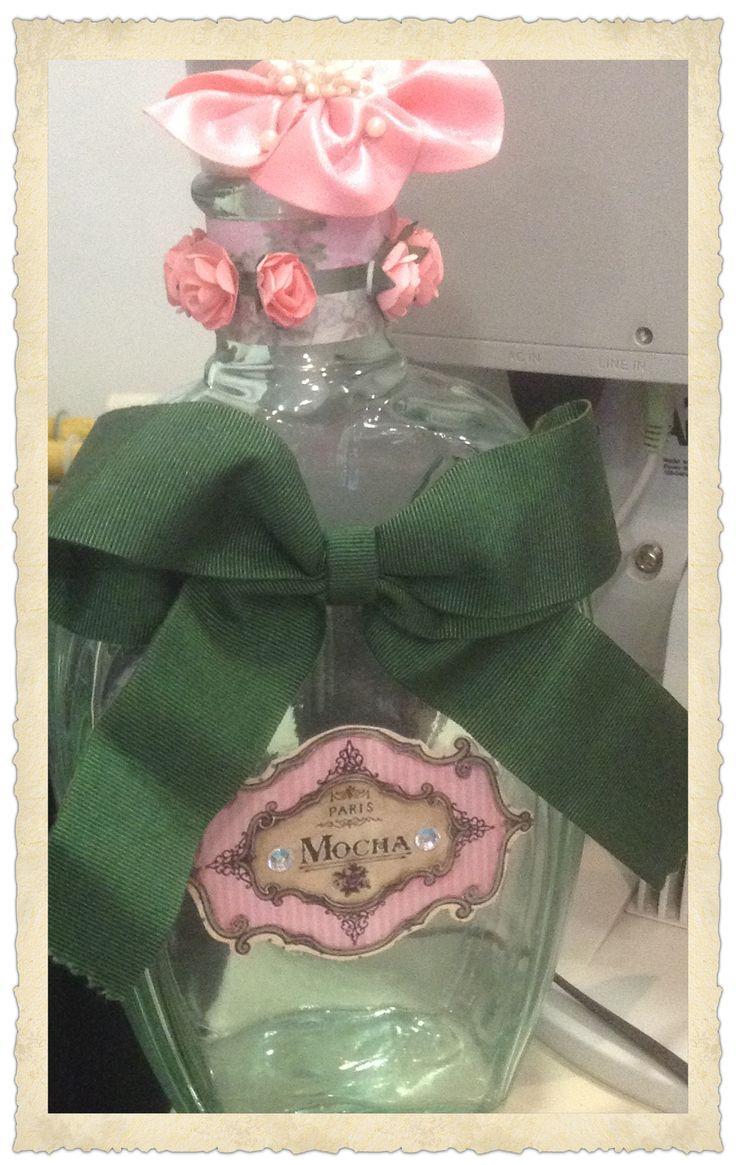 Coqueto y elegante diseño apto para cualquier regalo diferente y especial #regalo #diseño #perfume