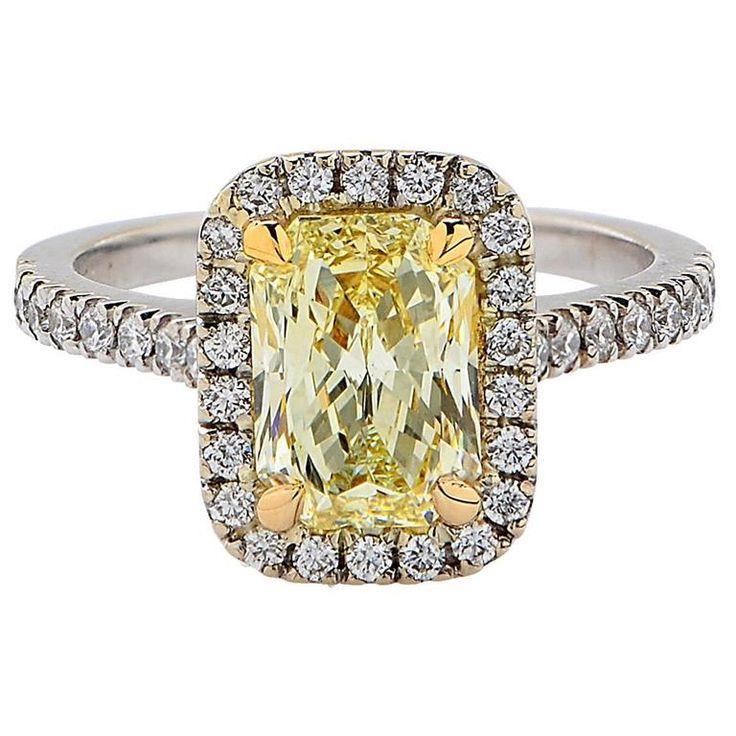 1.71 Carat GIA Diamond Ring 1