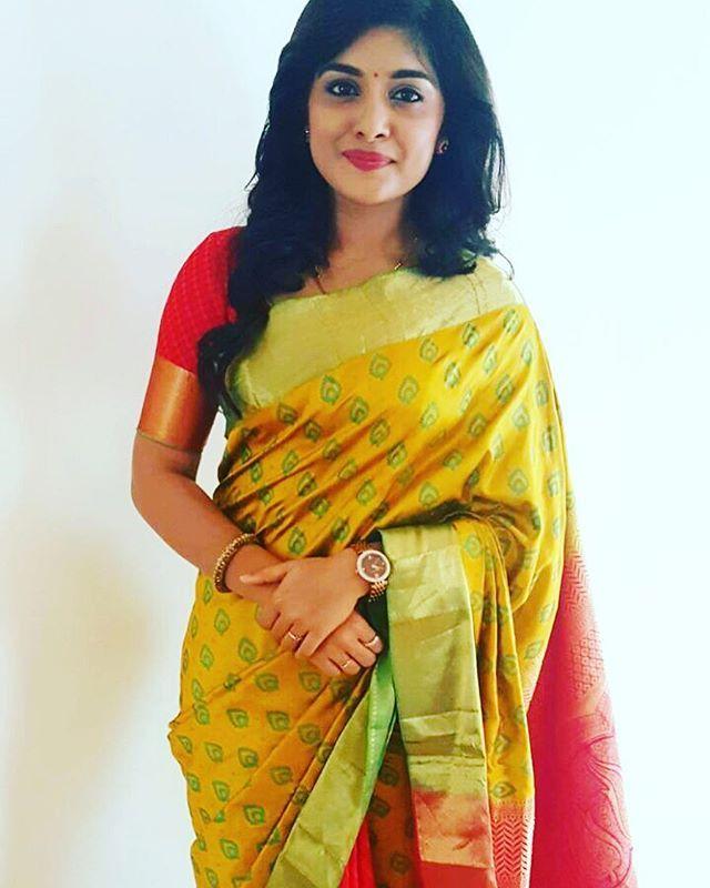 At the launch :) #nizamabad #bridal #silk #aakruti
