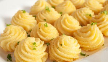 #Antipasti di #patate duchessa con il purè  all'aroma di curry