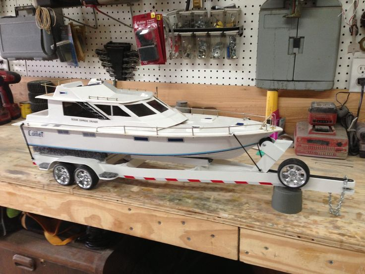 RC Boat & Trailer | RC Boats | Pinterest | Boats, Trailers and Boat trailer