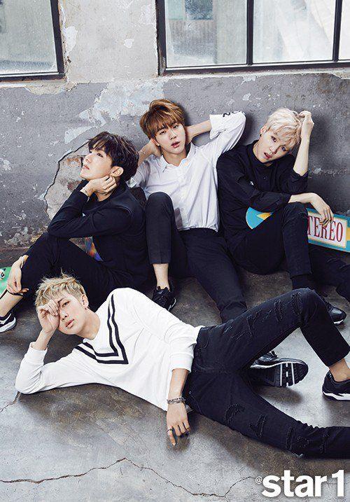 BTS @star1 4 - Soompi France