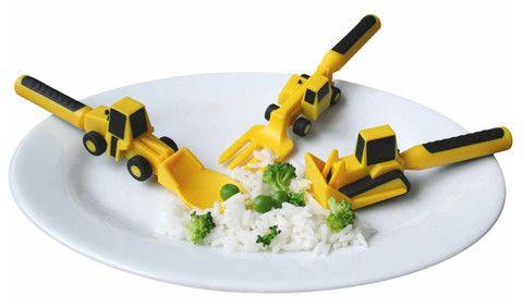 Hem & Trädgård - Constructive Eating Bestick , Jo, man får leka med maten!