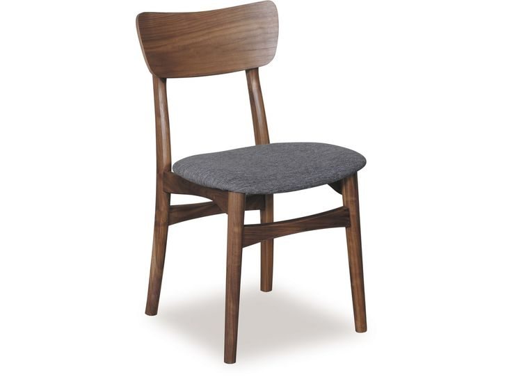 As the name suggests, the Copenhagen Dining Chair is a Danish designed piece presented in a beautiful Walnut timber. Functionality meets beauty with a curved back being typical of Scandinavian design and an upholstered seat brings comfort to the fore. The Copenhagen Dining Chair is a great way of introducing a little bit of Denmark into your dining room.