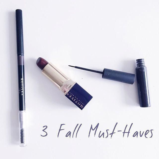 3 Fall Must Haves Motives by Loren Ridinger | Motives Cosmetics