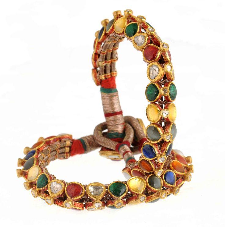 Jadau Bangle Design No.  PB057