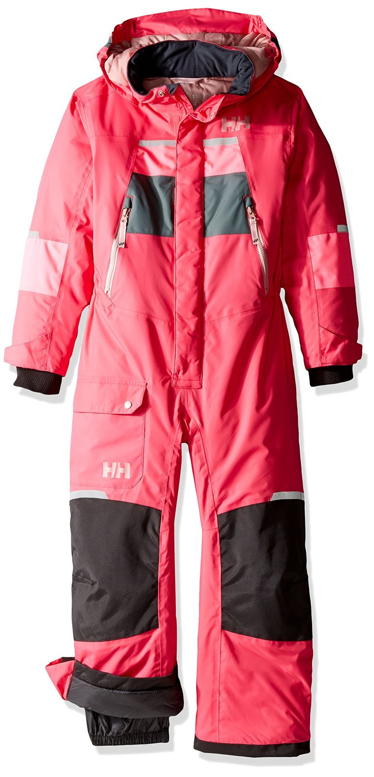 Helly Hansen Kids Legacy Insulated Play Suit, Magenta, Size 7