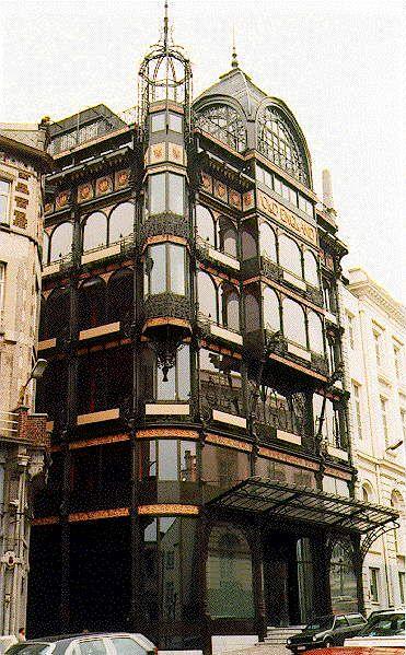 Music Museum (Ex Old England departement store), 2, rue Montagne de la cour, Bruxelles by SAINTENOY in 1899