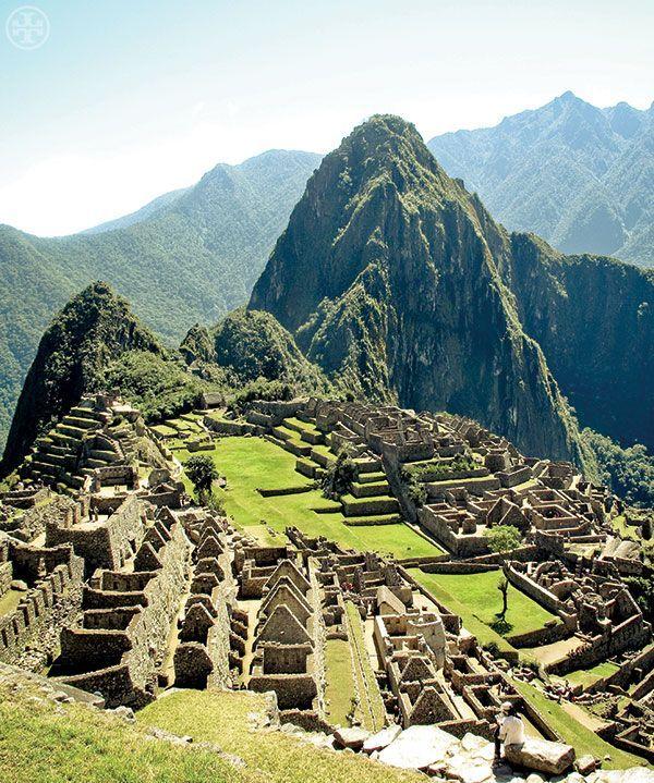 """The ruins of Machu Picchu, Peru, from the book """"Tory Burch In Color"""""""
