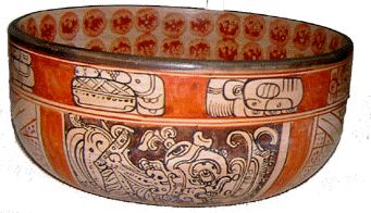 Mayan Vase Replica created for the Toh Boutique an active donor of the Maya Foundation In Laakeech