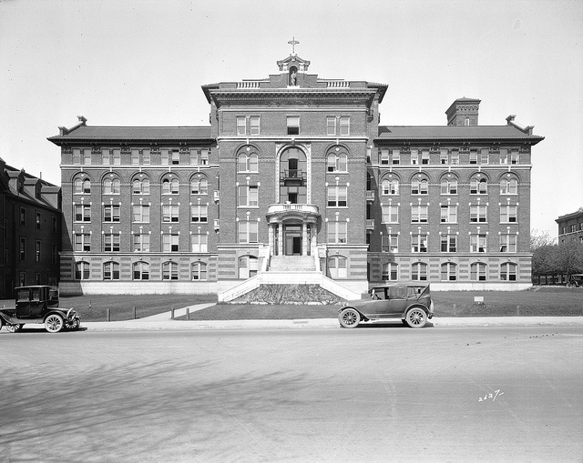 St. Pauls Hospital: Historic Burrard Building by Heritage Vancouver, via Flickr