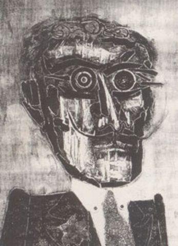 Amigo espiritual de Ramona, 1963: Obra de Antonio Berni