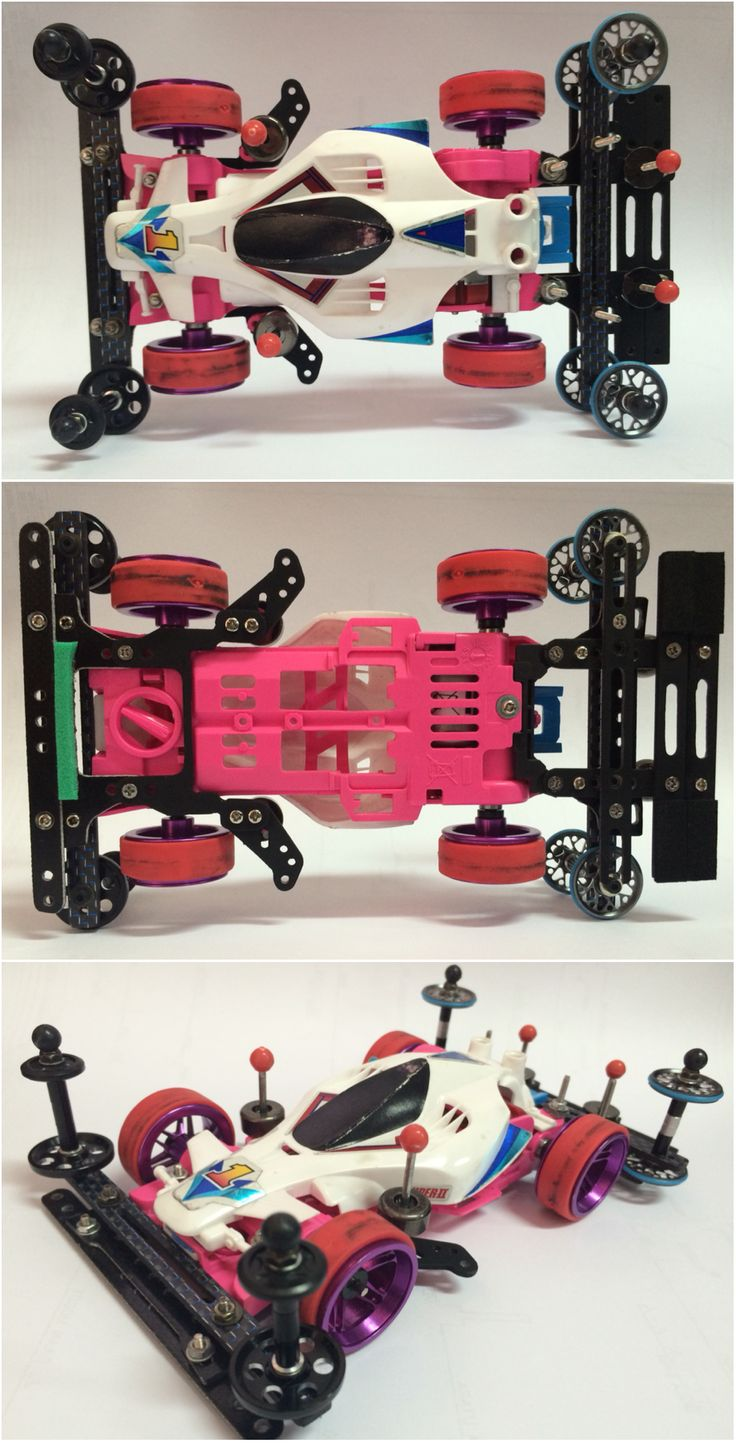 Pink Fiesta Super II - Avante RS #TAMIYA #mini4wd #tamiya_indonesia #tamiya_mini4wd
