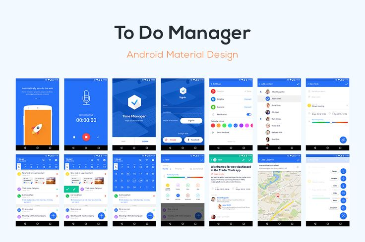To Do List Manager – Template by Agilie Team