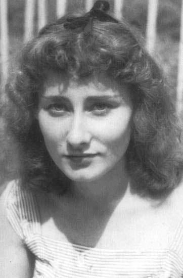 Halina Poswiatowska - polish poet and writer.