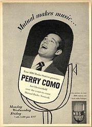1949-1963   Perry Como TV Show