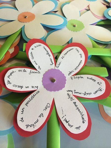 Flores para escribir poemas ¡Feliz día de la poesía!