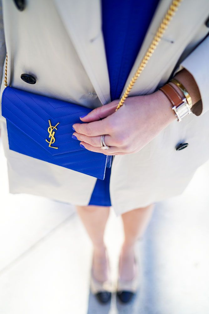 Blue J. Crew Presentation Dress | Covering the Bases | Fashion and Travel Blog New York City