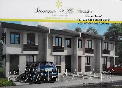 SummerVille Php 7,413 Per Month Subd. in Cordova, Cebu