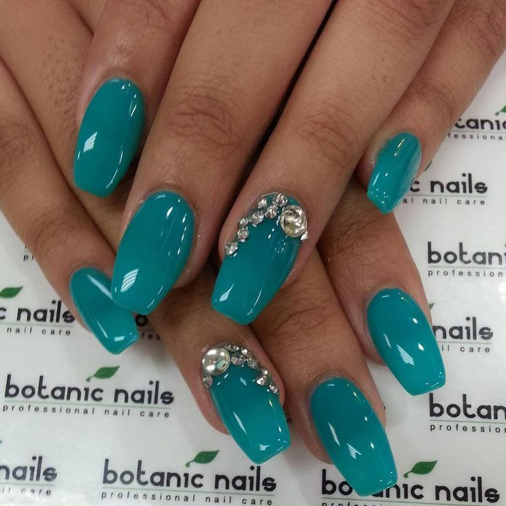 25 best ideas about turquoise acrylic nails on pinterest