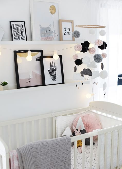 Nursery Tour | home decor for your baby's bedroom