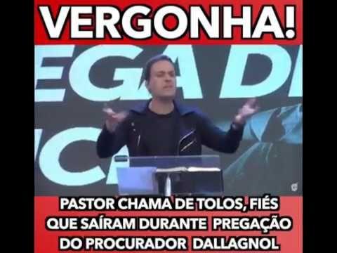 Igreja evangélica esvaziou durante pregação do Procurador da Lava Jato D...
