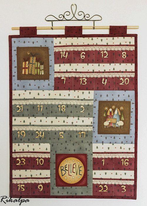 Adventní kalendář - obrázky 04814 - SLEVA!