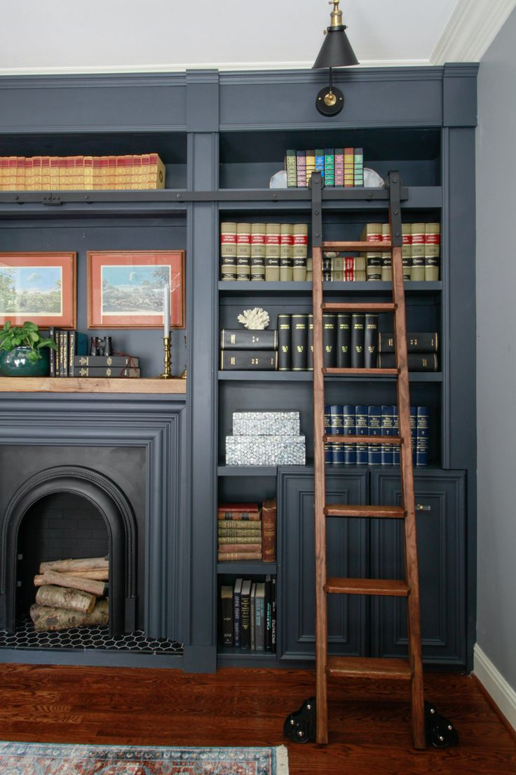 Amazing Home Libraries: 35 Amazing Room Makeover Reveals