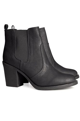 H & M ankle-boots- been looking for something like this FOREVER without having to sell my organs. $34.95 !!