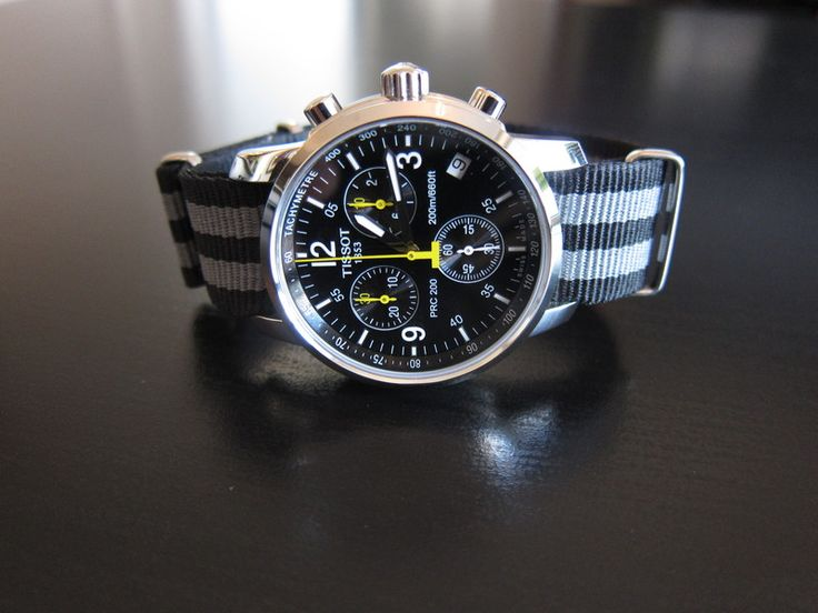 Tissot prc200 nice field watch inexpensive watch wish list pinterest nice field watches for Celebrity tissot watch