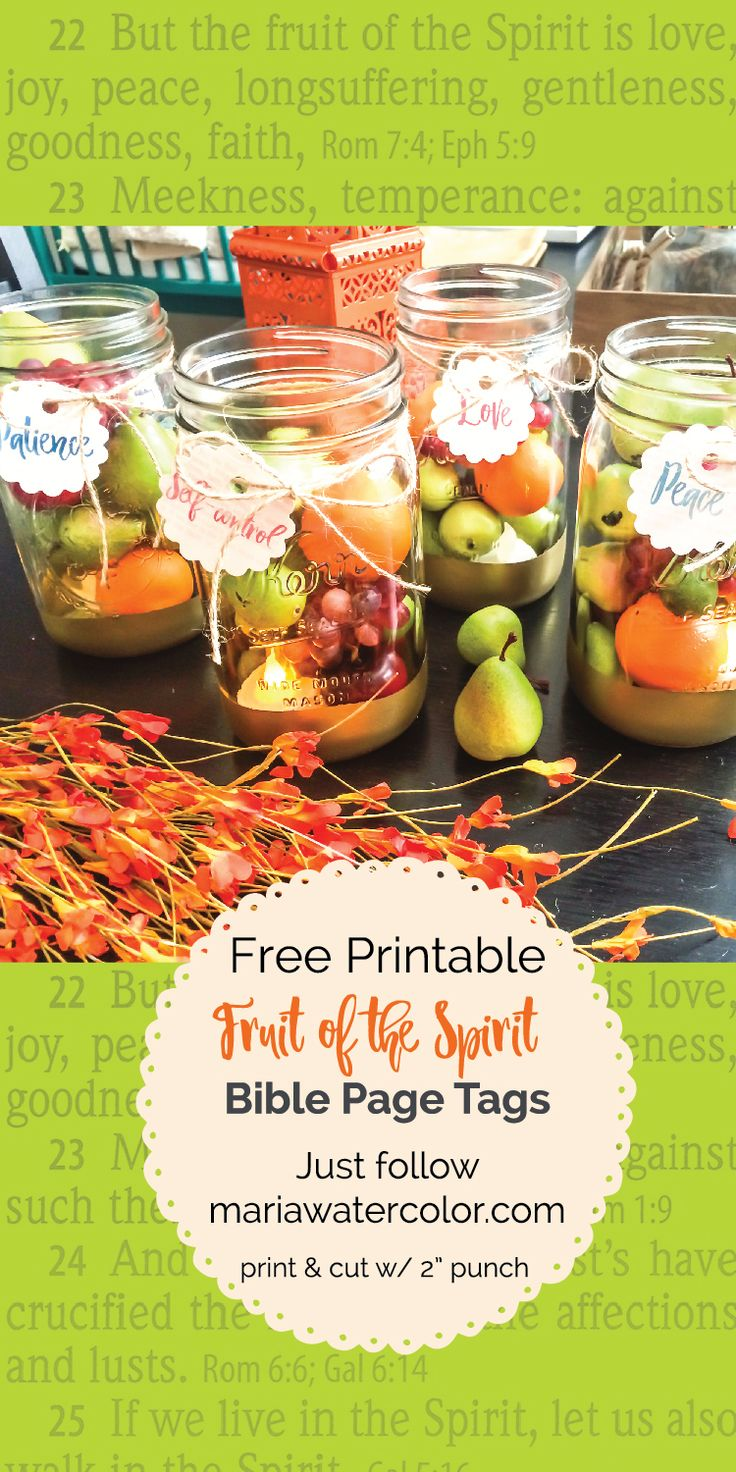 Free Downloadable Pdf Of Circle Bible Pages With The Fruit Of Spirit On  Each One In