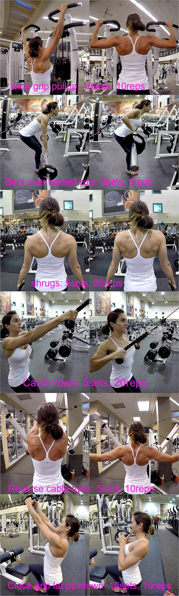 A few good back exercises #backday #weightlifting