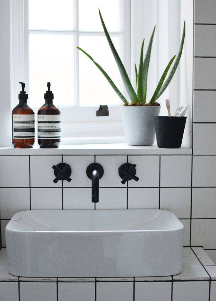 monochrome bathroom detailing in flat 15s shoreditch project west elm