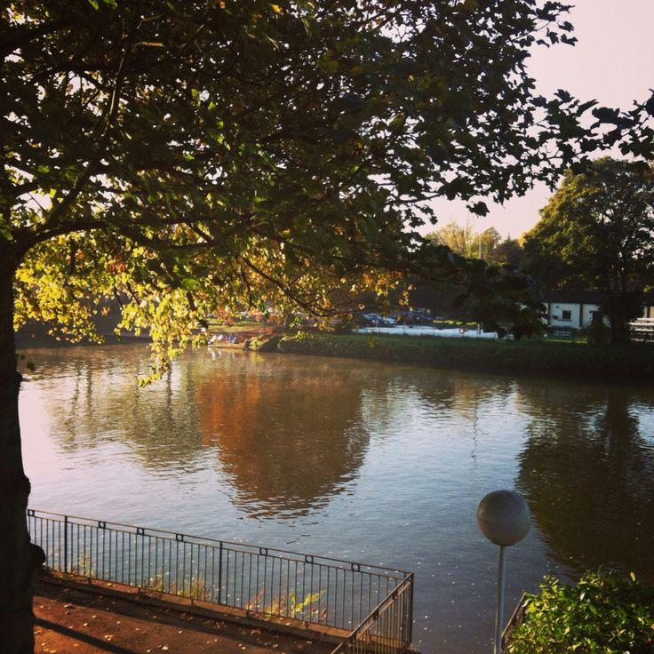 Outono em Staines - Thames