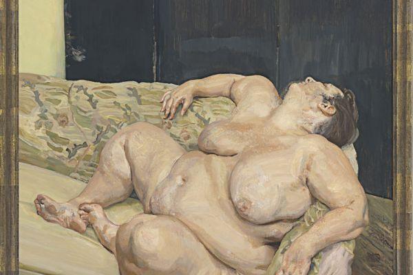 Люсьен Фрейд. Социальный смотритель отдыхает