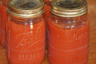 Foto de la receta de tomate frito en conserva
