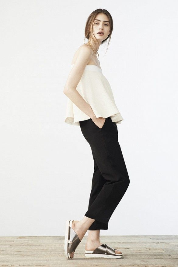 This minimalist look is an awesome standout from the Elizabeth and James Resort 2015 Collection Lookbook.